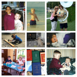 Personal photo collage